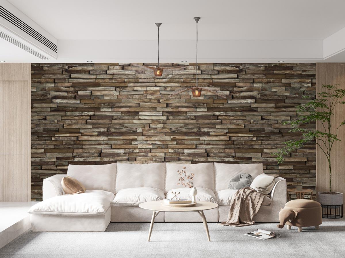 3D drevený obklad na stenu